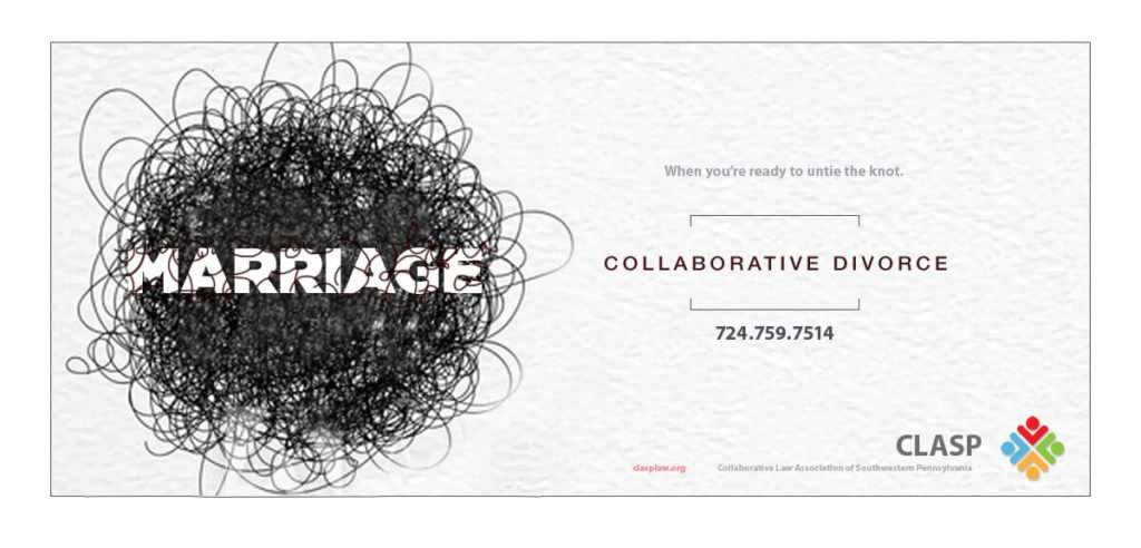 collaborative divorce marriage knot inkcredible ad