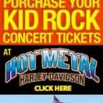 Kid Rock Tail Gaste Party and Concert Ride Event Tickets Inkcredible Design