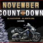 Harley Davidson November Count Down to Christmas Inkcredible Design