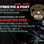 Harley Davidson Haunted Zombie Ride Inkcredible Ride