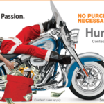 Harley Davidson WIN $5000 Christmas Holiday Game Inkcredible Design