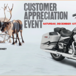 Harley Davidson Holiday Christmas Customer Appreciation Event Inkcredible Design