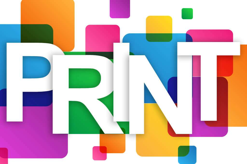print is the foundation of graphic & digital design