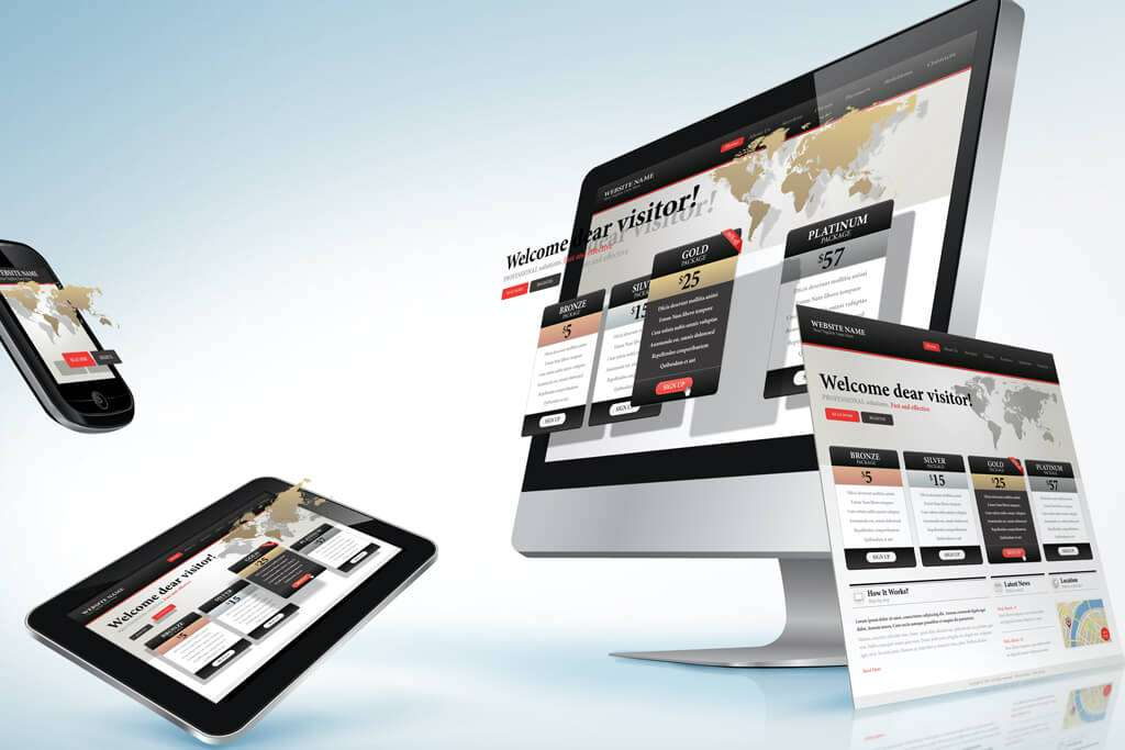 responsive website require good graphic design & digital design