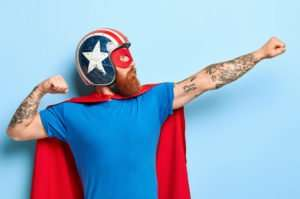 super hero pittsburgh graphic & digital design artist