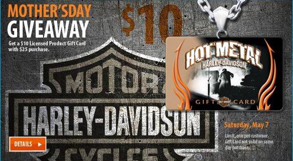 Harley Davidson Mother's Day Giveaway Inkcredible Design